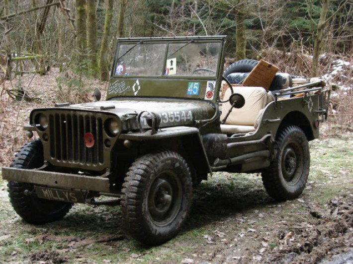 64 01 Willy Jeep